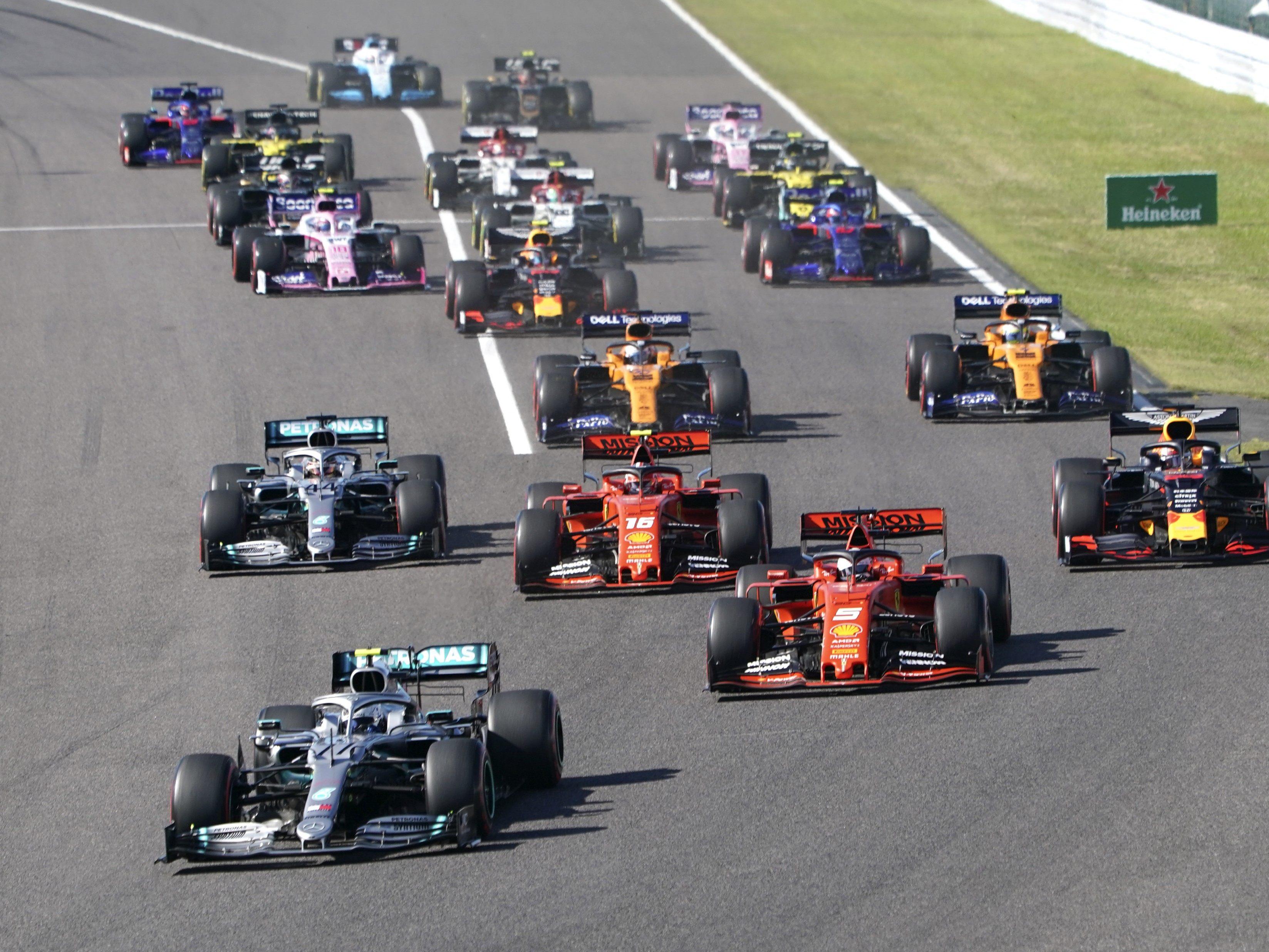 Formel Eins Sieger
